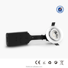 LED Lux Down Light 6.5w Patent Lens White/Silver