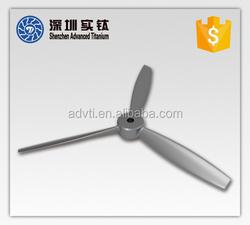 Customized superalloys&titanium casting aircraft propeller for sale