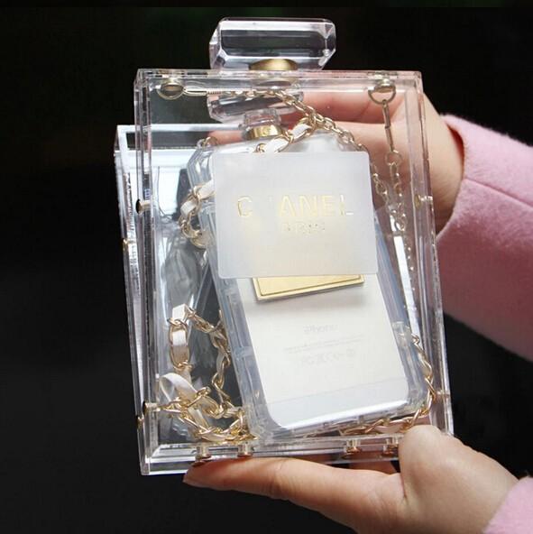 флакон Прозрачный акриловый пакет небольшой сладкий ужин с мешком