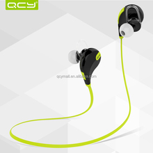 QCY 2015 Hot wireless sport stereo bluetooth headsets QY7 Patent Factory with Certificate Bluetooth Headphones Earphone