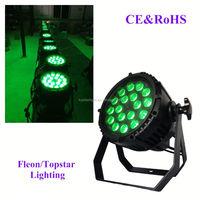 18*10W LED Zoom Waterproof Par Light 4in1 180w PAR light par can stage dj party light wedding decoration