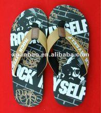 de haute qualité chaussures de plage pantoufles hommes tricot patron