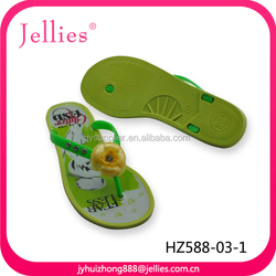 2014 Fashion Beautiful Flat Jelly Plastic High Heel Slippers Shoes