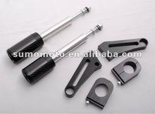 Motorcycle frame slider GSX 1400 no fairing cut carbon fiber 950-5920