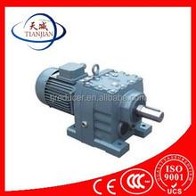 Tianjin High effency high torque R series Helical gear box/gear reducer