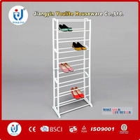 customized ten layer cabinet parts shoe rack