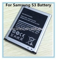 High quality for samsung battery, for samsung galaxy s3 battery
