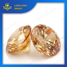 wholesale price AAA quality round cubic zirconia gemstones