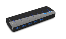 7 Port USB 3.0 HUB included charge function, 2 in 1 USB hub, usb 3.0 hub