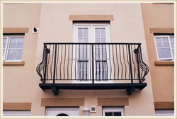 GYD-15B066 high building simple design modern design for balcony railing