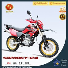 New Style 200cc Cheap Chinese Dirt Bike/Off Road Motorcycle/Off Road Motorbike for Sale SD200GY-12A
