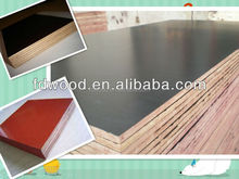 4x8 17mm WBP construction/concrete formwork film faced plywood at wholesale price