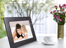 """10"""" Android Touch Screen Digital Photo Frame with Wifi, 8GB Storage"""
