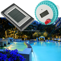 Professional Waterproof floating Outdoor digital wireless swimming pool thermometer