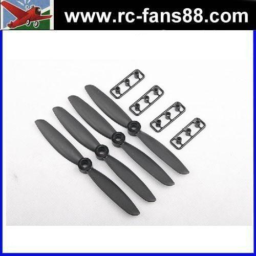 """장난감 플라스틱 프로펠러 gemfan 5040/ 5 × 4"""" 유리 섬유 나일론 CR/ 카운터 회전 프로펠러- 블랙( 4pcs) <span class=keywords><strong>미니</strong></span> 프로펠러"""