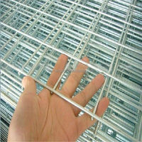 galvanized hog wire fence panels, welded iron wire mesh panel (Q - 011)