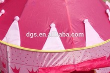 Wholesale Portable Outdoor Folding Princess Castle Waterproof Kids Children Game Toy Play Tent