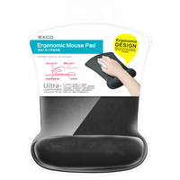 EXCO ergonomic memory foam wrist rest picture photo frame mouse pad for mouse hand precaution
