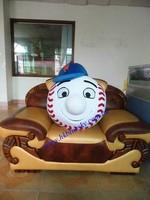 handmade Mr Met mascot costume head