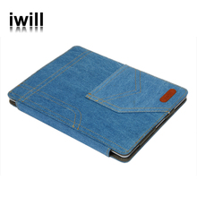 Jean mobile phone housing with stand unbreakable protective case for ipad 2 3 4