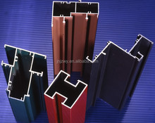 6063 t5 anodized aluminum extrusions with beautiful colors