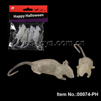 Halloween party items Prank Toys novelty mouse glow in the dark toy
