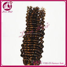 Fast shipping 7a new fashion good price unprocessed raw 100% virgin indian hair remy deep curly hair
