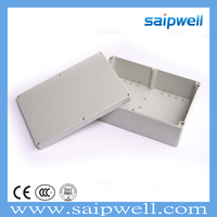 SAIPWELL/SAIP Best Selling IP67 263*182*60mm Electrical ABS Plastic Waterproof Terminal Block Enclosure