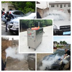 CE no boiler LPG 20 bar mobile steam car cleaner/ steam best selling ce steam car wash machine