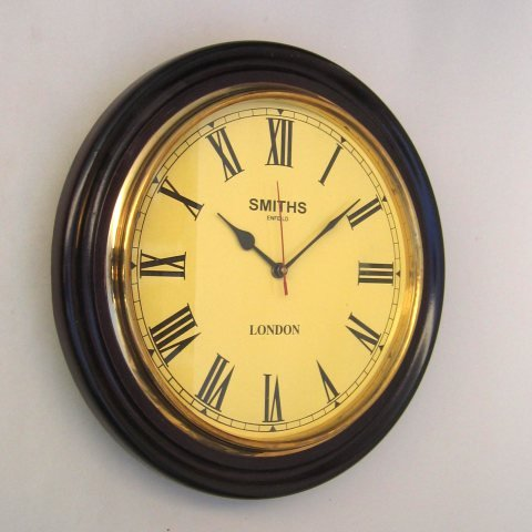 Wooden wall clock antique style wall clock modern wall clock decorative wall clock pendulum wall - Stylish pendulum wall clock ...