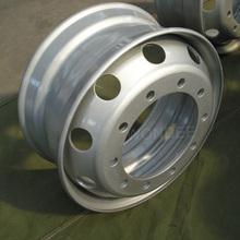 Llanta de acero de 22,5 pulgadas para camión liviano, fabricación china