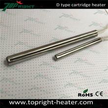 Diameter high power resistances cartridge heater