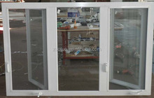 Aluminum Casement Window with hand Crank open