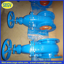 Z45T - 16 non-rising stem flange gate valves Manual cast iron gate valve DN40 50, 65, 80, 100, 150, 200