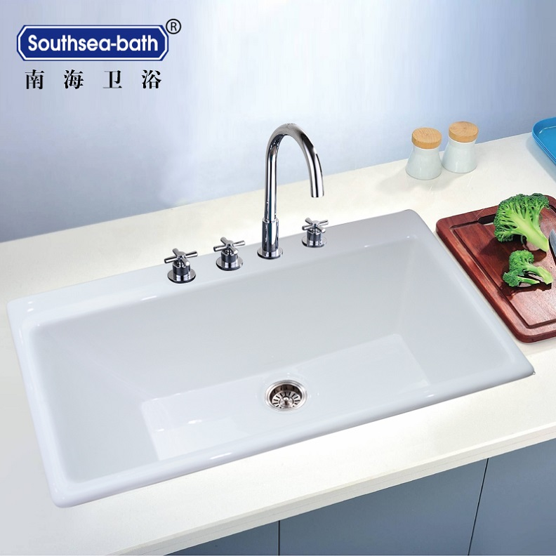 Big size iron cast kitchen sink manufacturing buy - Cast iron kitchen sink manufacturers ...