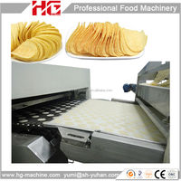 full automatic complete potato chips production lines