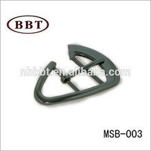 high quality and new style zinc alloy metal heart shoe buckles