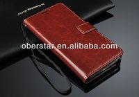 For Samsung Galaxy Note3 Neo N7506V Natural Real Full Grain Genuine Leather Case Cover Handmade For Phone & Tablets