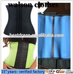 Instyles cheap Colorful latex waist training cincher corsets wholesale made in China outlet