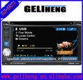 2din 6.2pulgada tocar pantalla coche audio jugador con gps