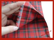 100 cotton tartan fabric fabric 100%cotton yarn dyed checks fabric for shiritng