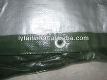 140gsm-200gsm Korea PE tarpaulin with UV treated for Car /Truck / Boat cover