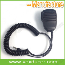 Built in Mic Speaker Mic for Handheld Radios with 3.5mm Jack