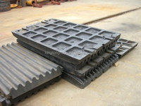 high manganese steel movable swing and fixed jaw die