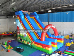 cheap commercial giant inflatable slide, inflatable jumping slide for sale