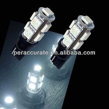 9SMD 5050 T10 194 W5W 5050 Wedge LED Car Light led jmc light truck 12-24V