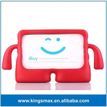 Shock falling preventing silicon rubber case for iPad, kid case for ipad