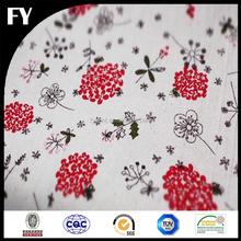 Wholesale custom high quality digital printed hs code cotton fabric