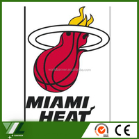 Miami Heat basketball flag custom design flag