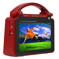 2015 High quality CHL Solar portable dvd player with tv fm usb with handles